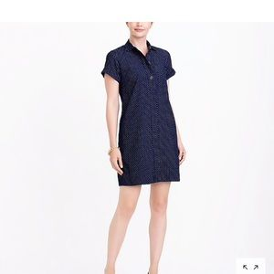 JCrew Factory Corduroy Shirt Dress
